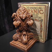 Titanic's Grand Staircase Pineapple Finial collectible replica. Order now!
