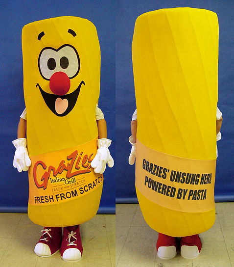 Facemakers Pasta Mascot Costumes