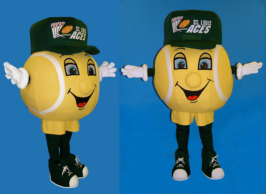 Facemakers Tennis Mascot Costumes
