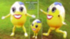 Facemakers Lemon Mascot Costumes