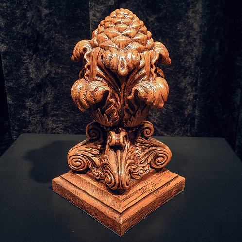 1:2 scale Pineapple Finial