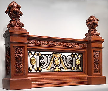 Titanic's Grand Staircase reborn in this Balustrade Set for collectors.