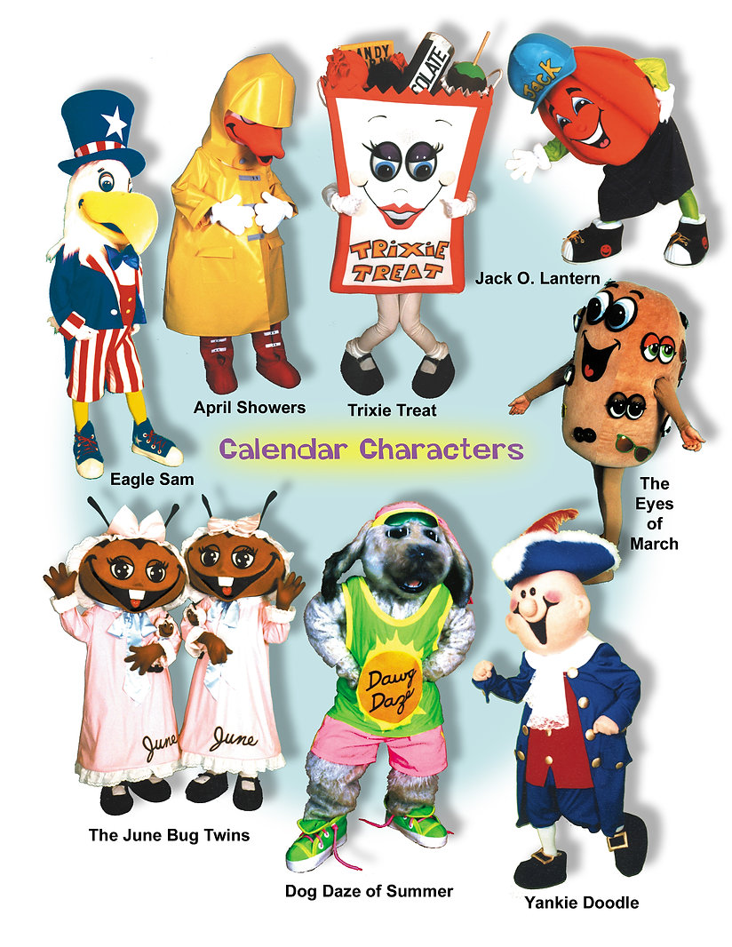 Facemakers Mascot Costumes
