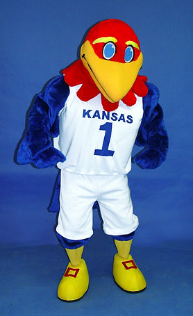 Facemakers Jayhawk Mascot Costumes