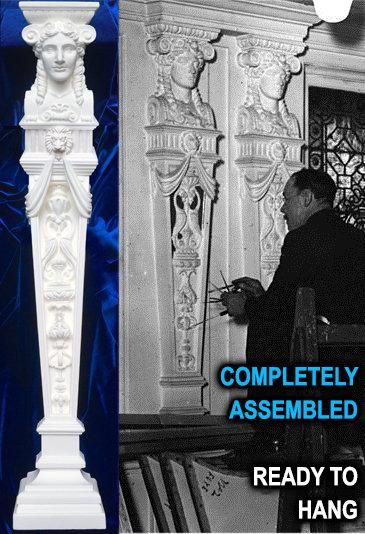 1:2 scale Complete Caryatid, Goddess