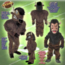 Facemakers Bison/Buffalo mascot costumes