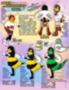 Facemakers Hornet School Mascot Costumes