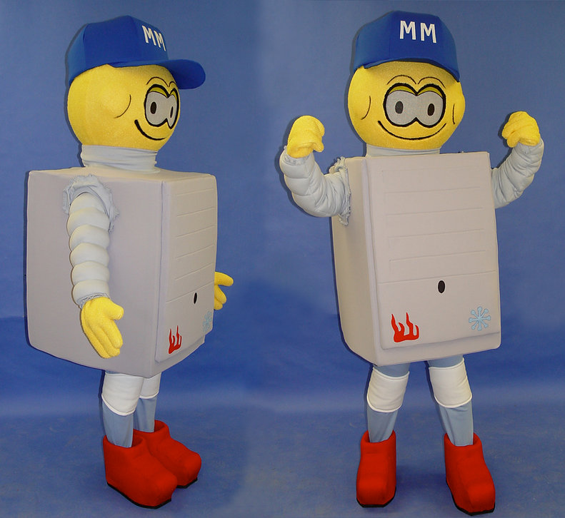 Facemakers Plumber Mascot Costumes