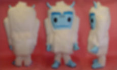 Facemakers Yeti Mascot Costumes