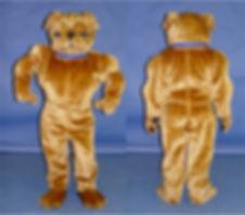 Facemakers Bulldog Mascot Costumes