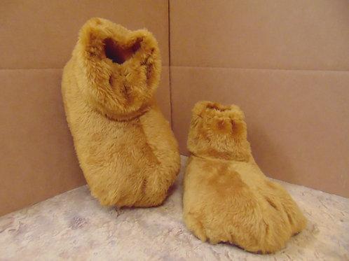 F4 Tan Plush Feet w/soles