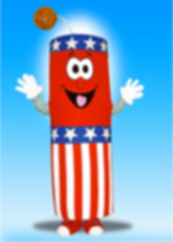 Facemakers Firecracker Mascot Costumes