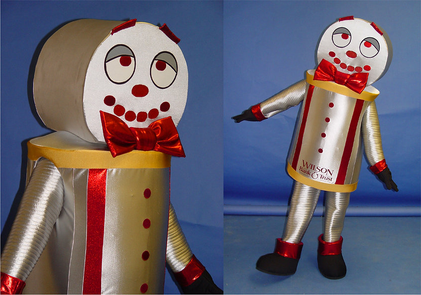 Facemakers Robot Mascot Costumes