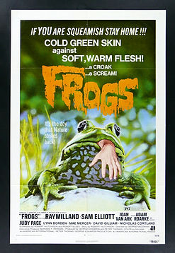 Facemakers mascots began with the movie FROGS