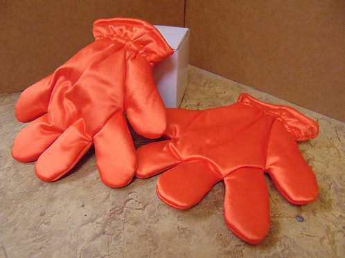 Orange Spandex Gloves