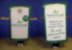 Facemakers Stevia Sweetener Mascot Costumes