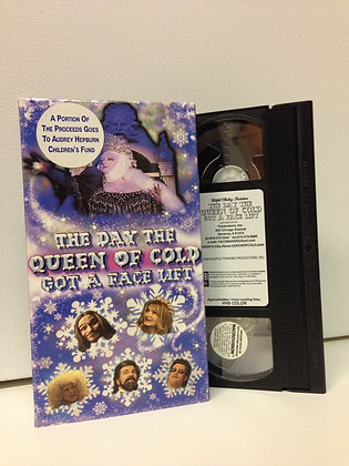 The Day the Queen of Cold Got A Facelift VHS