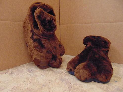 F4 Brown Plush Feet w/soles