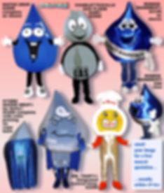 Facemakers Utilities Mascot Costumes