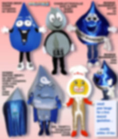 Facemakers Utilities Mascot Costumes