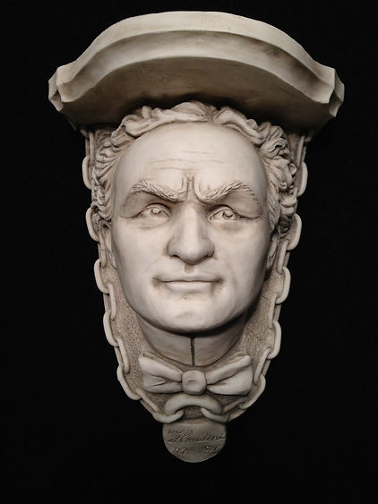 Houdini collectible bust by Alan St George