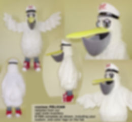 Facemakers Pelican Mascot Costumes