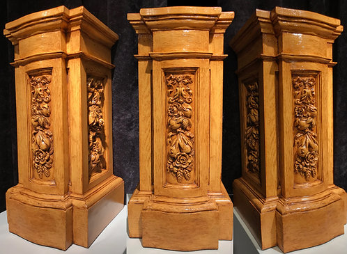 1:2 scale Cherub Pedestal