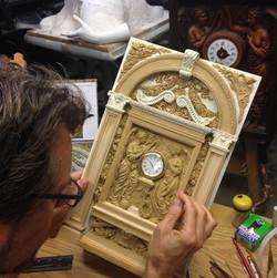 Sculpting the Titanic Clock