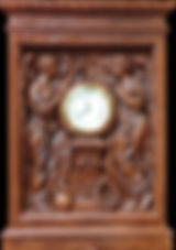 """RMS Titanic """"Honour and Glory"""" clock. Museum-quality replica for your collection."""