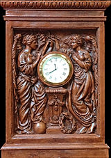 "RMS Titanic ""Honour and Glory"" clock. Museum-quality replica for your collection."