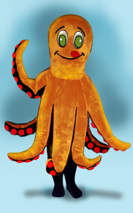 Facemakers Octopus Mascot Costumes
