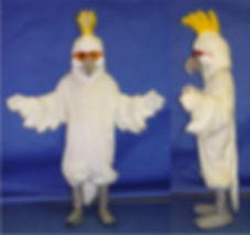 Facemakers Cockatoos Mascot Costumes