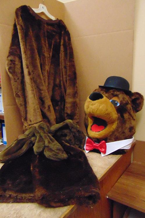 PAPA BEAR mascot costume