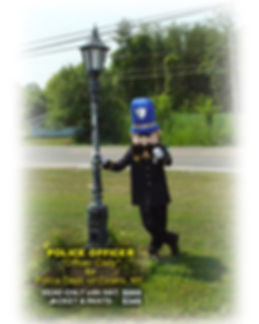 Facemakers Police Officer Mascot Costumes