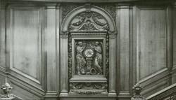 Titanic Clock from the upper railing