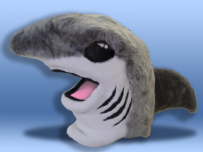 Facemakers Shark Mascot Costumes