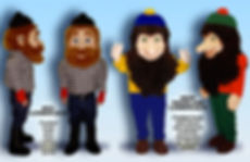 Facemakers Lumberjack Mascot Costumes