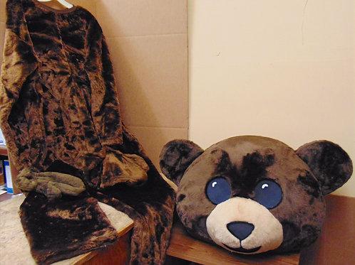 CUDDLY BEAR mascot costume