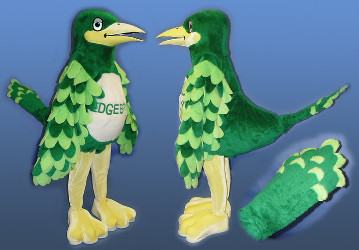Facemakers Roadrunner Mascot Costumes