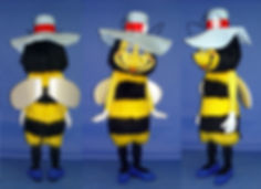 Facemakers Bee Mascot Costumes