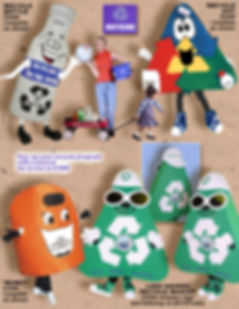 Facemakers Recycle Mascot Costumes