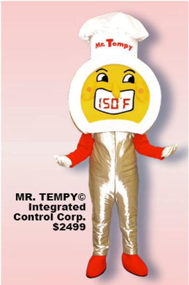 Facemakers Tempy Food Mascot Costumes