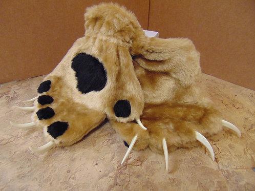 Ferocious Paws w/claws in tan