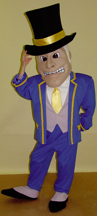 Facemakers Governor Mascot Costumes