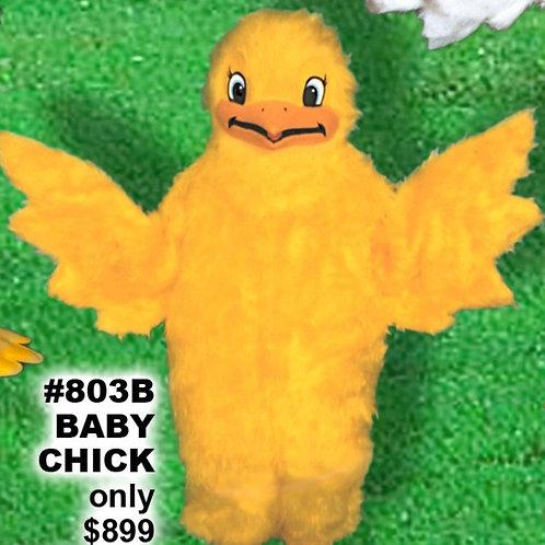 BABY CHICK mascot costume