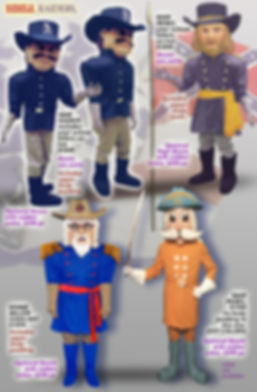 Facemakers Rebel-Raider Mascot Costumes