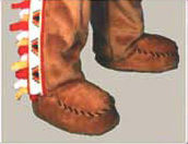 Facemakers Moccasins Mascot Parade Shoes