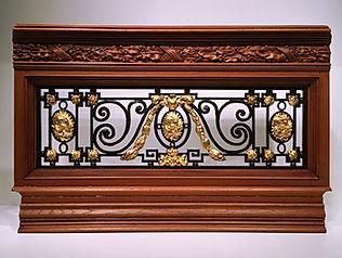 Titanic Balustrade with 24 karat gold ornaments