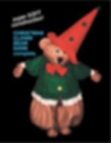 Facemakers Xmas Bear Mascot Costume
