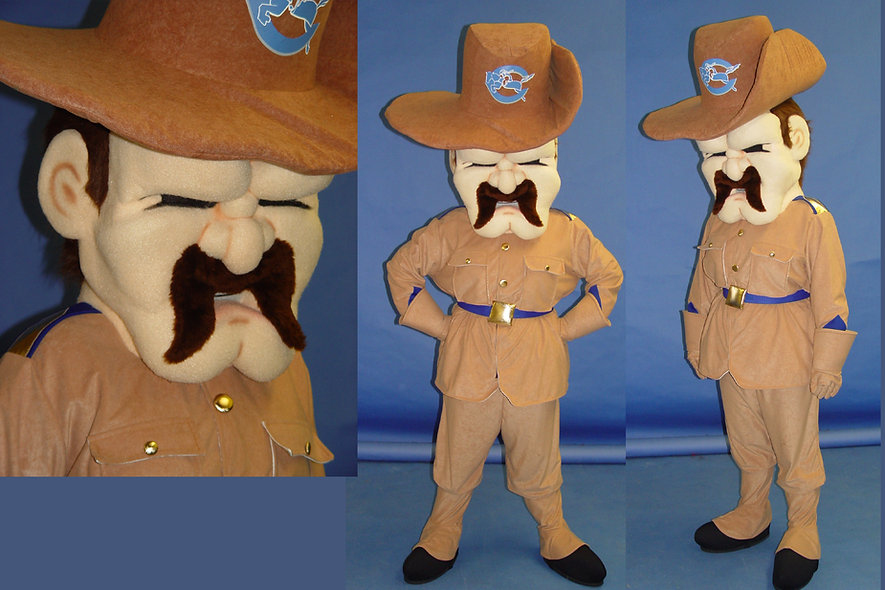 Facemakers Rough Rider Mascot Costumes